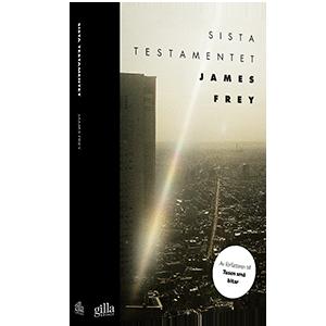Book cover design Sista Testamentet