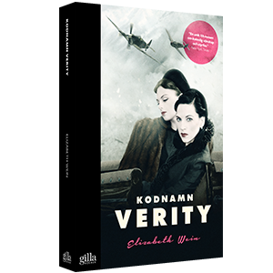 Book cover design Kodnamn Verity