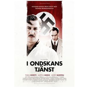 """Design of Movie poster/Key artwork for the movie """"I ondskans tjänst"""" (Jud Süss - Film ohne Gewissen). Client: Nonstop Entertainment."""