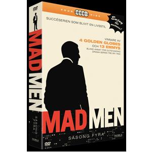 Design of DVD packaging Mad Men