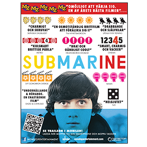 Layout of Advertising campaign for Submarine