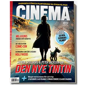 Cinema magazine layout