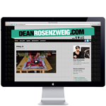 American painter Dean Rosenzweig aka SWAG website