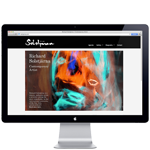 Painter, artist Rickard Solstjärna website