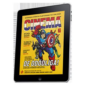iPad Cinema magazine layout