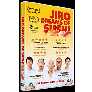 DVD design Jiro Dreams of Sushi