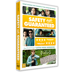DVD design Safety Not Guaranteed
