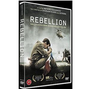 Design of dvd packaging for the movie Rebellion. Client: Koch Media.