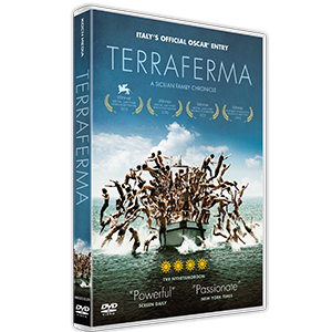 Design of dvd packaging for the movie Terraferma. Client: Koch Media.