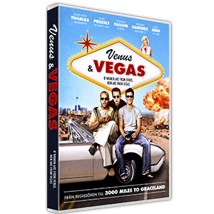 Design of Key art for the movie Venus & Vegas. Client: SF Home Entertainment.