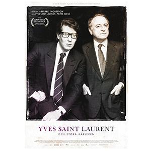 Movie poster design Yves Saint Laurent